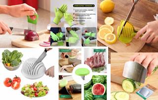 Защита пальцев от порезов ножом