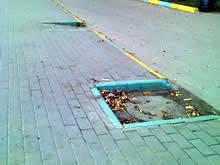 Нижний Новгород - безбарьерная среда канализационные люки, поребрики и съезды с тротуара
