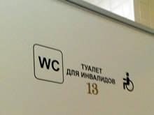 Нижний Новгород безбарьерная среда WC доступные туалеты