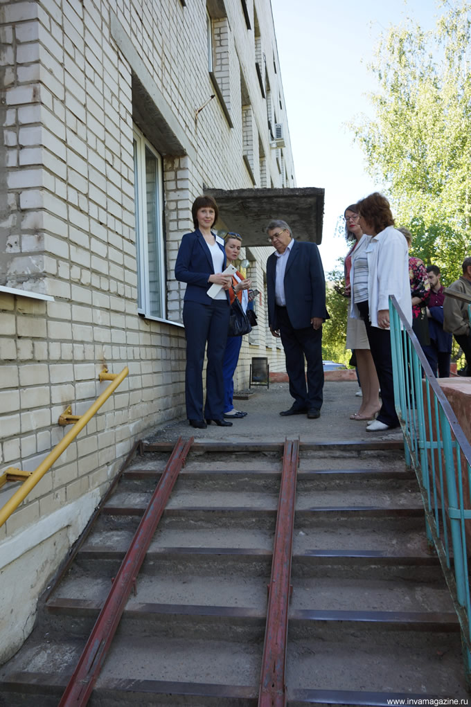 ВОИ в Балахне О безбарьерной среде для маломобильных граждан на территории Нижегородской области